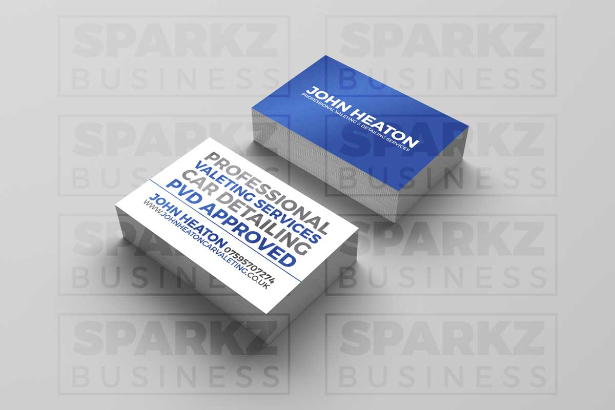 Laminated Business Cards | SPARKZ MEDIA